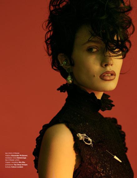 Harper's Bazaar Serbia fot. Marcin Kempski