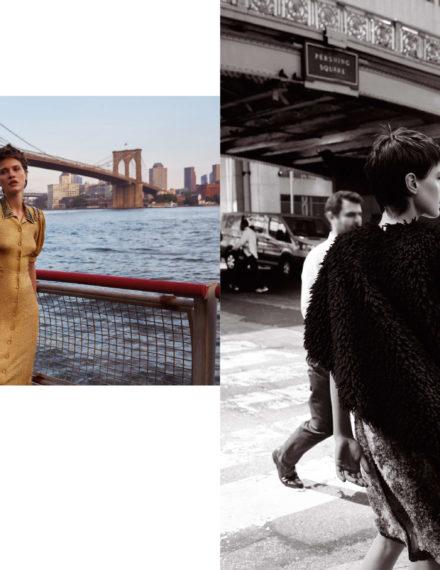 Harper's Bazaar Russia // NYC Story fot. Agata Pospieszyńska