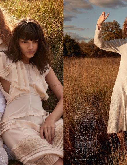 Harper's Bazaar UK fot. Agata Pospieszyńska