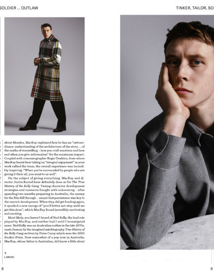 Glass Man x George Mackay